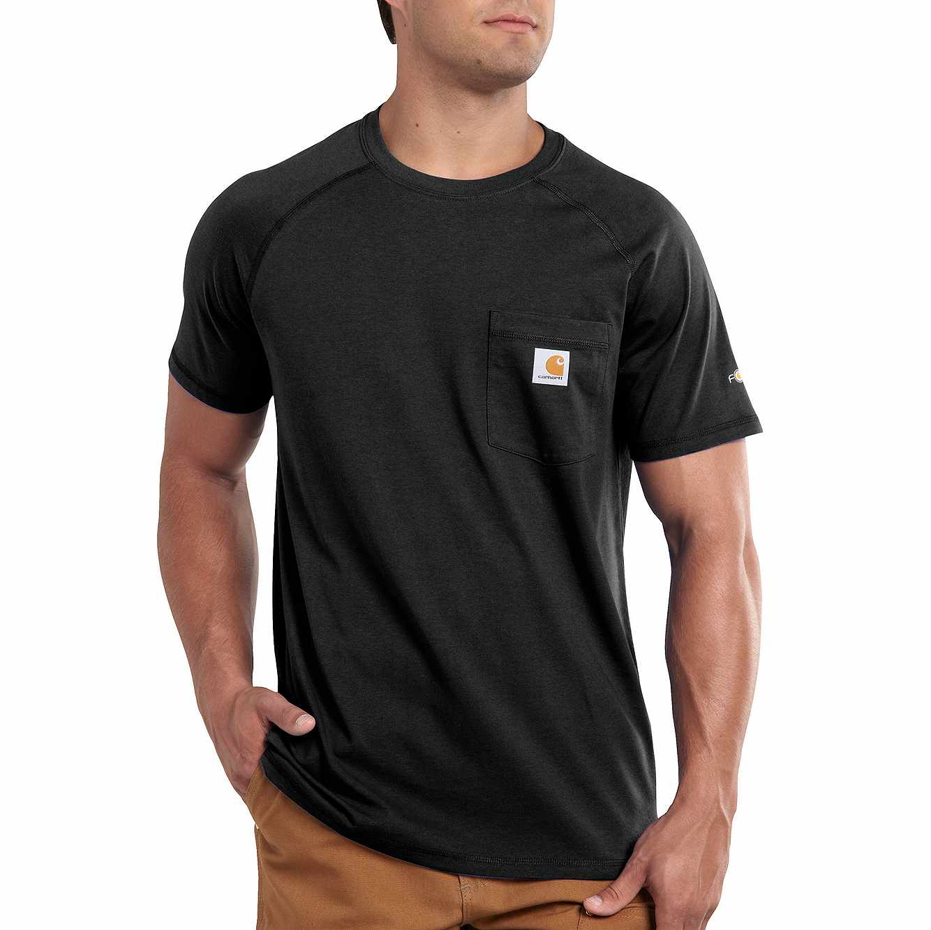 Picture of FORCE® RELAXED FIT MIDWEIGHT SHORT-SLEEVE POCKET T-SHIRT