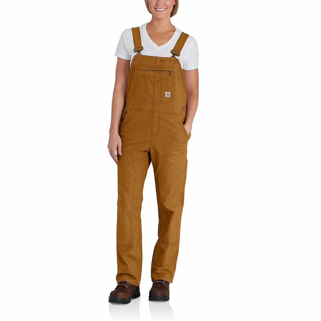 Picture of RUGGED FLEX® LOOSE FIT CANVAS BIB OVERALL