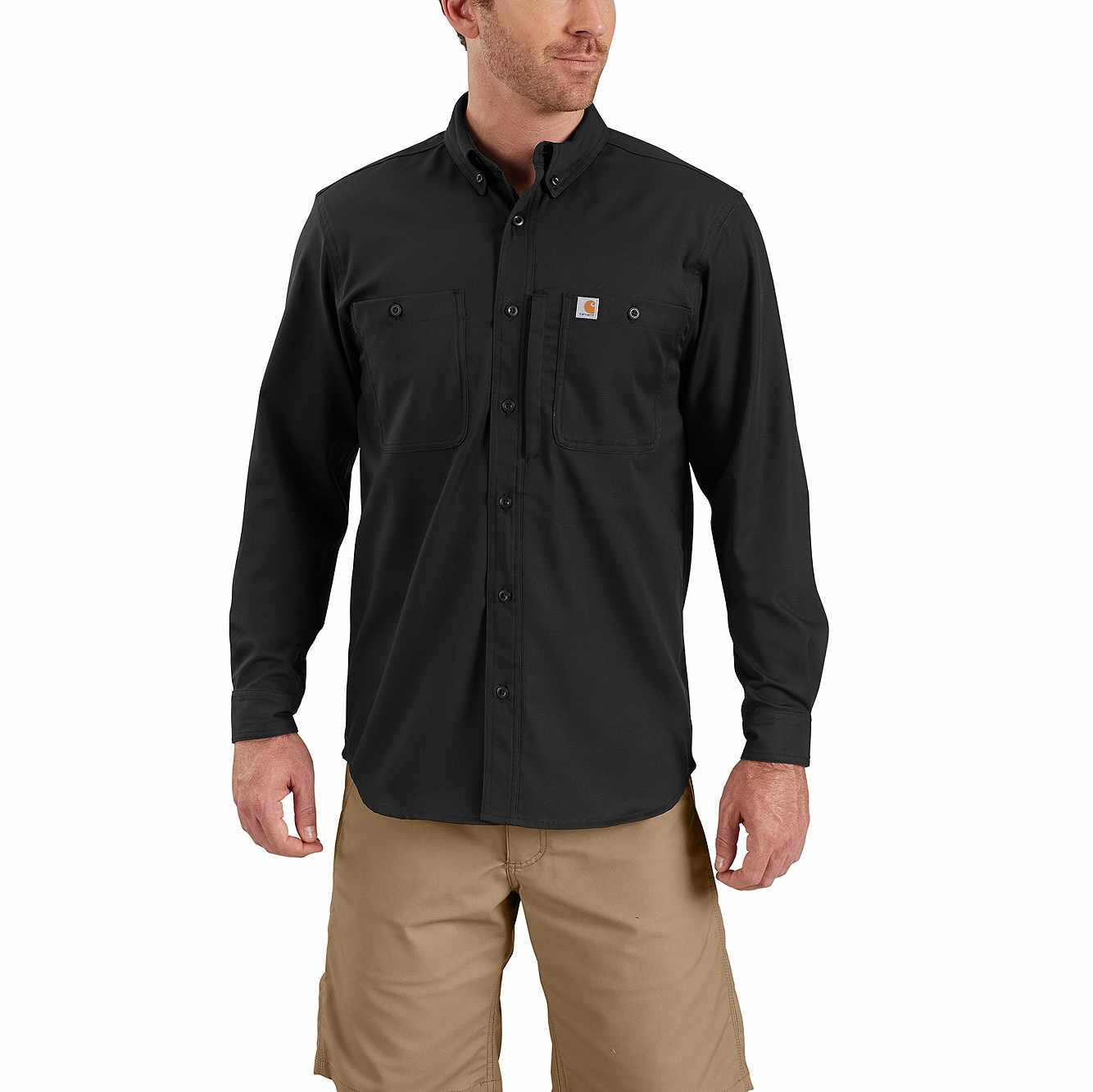 Picture of RUGGED PROFESSIONAL™ SERIES RELAXED FIT CANVAS LONG SLEEVE WORK SHIRT