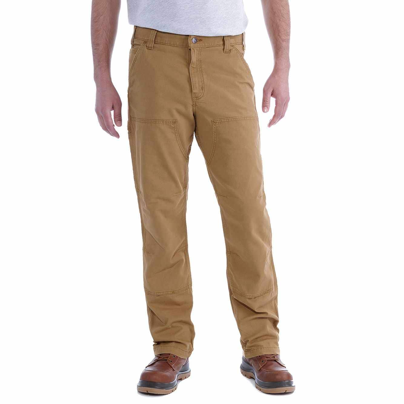Picture of RUGGED FLEX® RELAXED FIT CANVAS DOUBLE-FRONT UTILITY WORK PANT