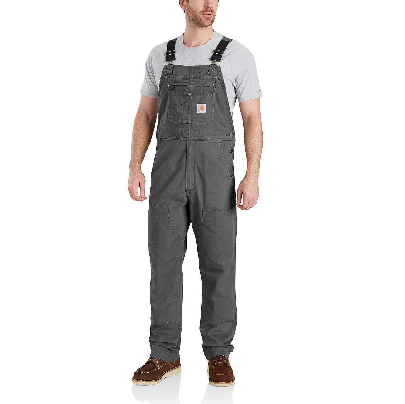 Picture of RUGGED FLEX® RELAXED FIT CANVAS BIB OVERALL