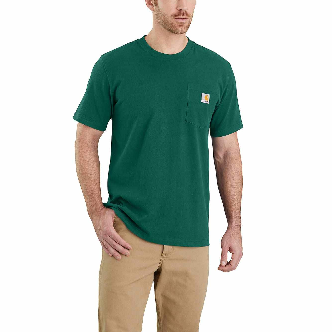 Picture of RELAXED FIT HEAVYWEIGHT SHORT-SLEEVE K87 POCKET T-SHIRT