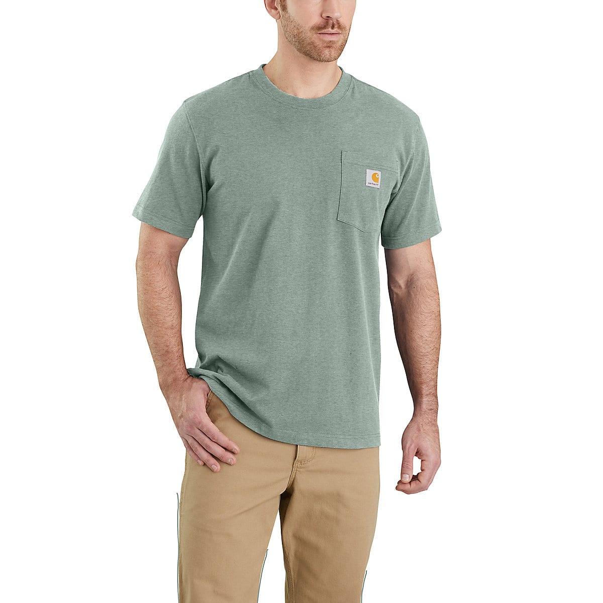 Workwear Pocket Short Sleeve T Shirt 103296 Carhartt