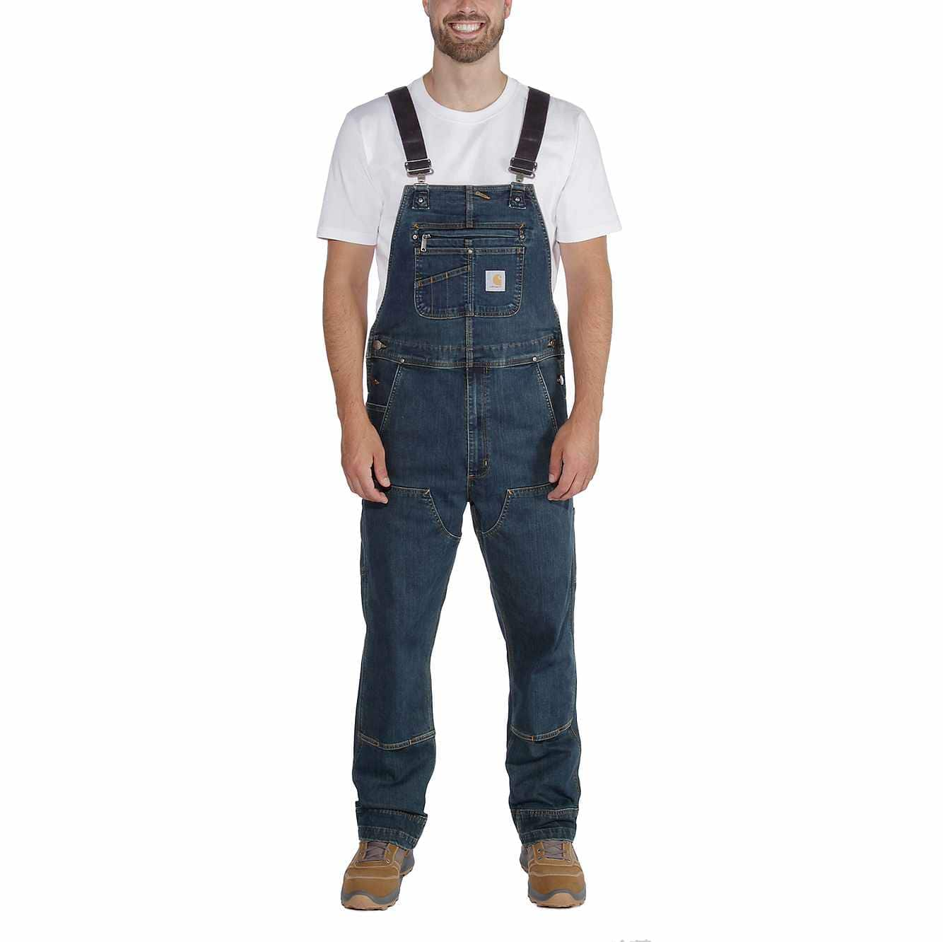 Picture of RUGGED FLEX® RELAXED FIT DENIM BIB OVERALL