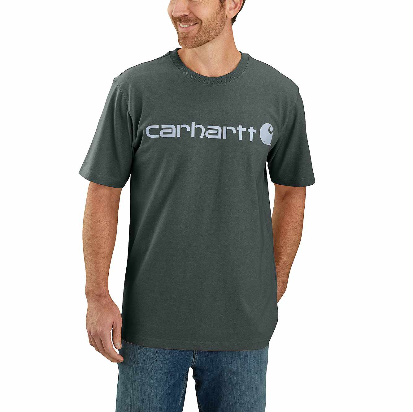 Picture of RELAXED FIT HEAVYWEIGHT SHORT-SLEEVE LOGO GRAPHIC T-SHIRT