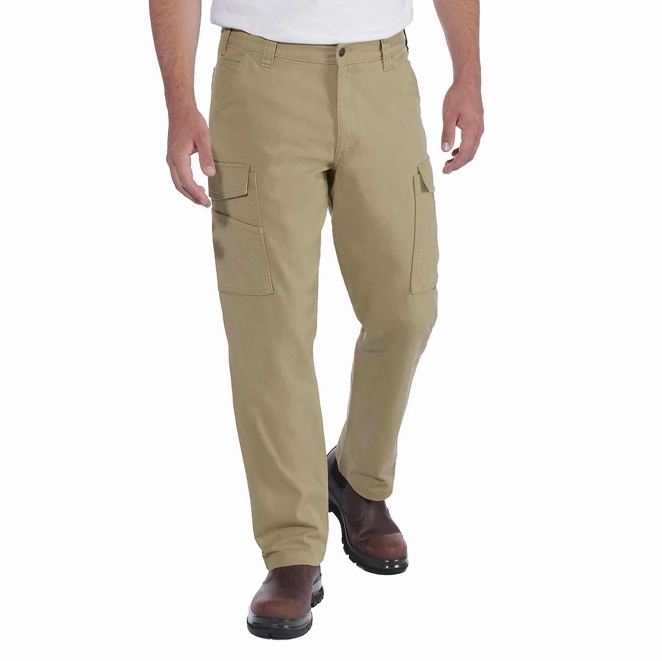 Picture of RUGGED FLEX® RELAXED FIT CANVAS CARGO WORK PANT