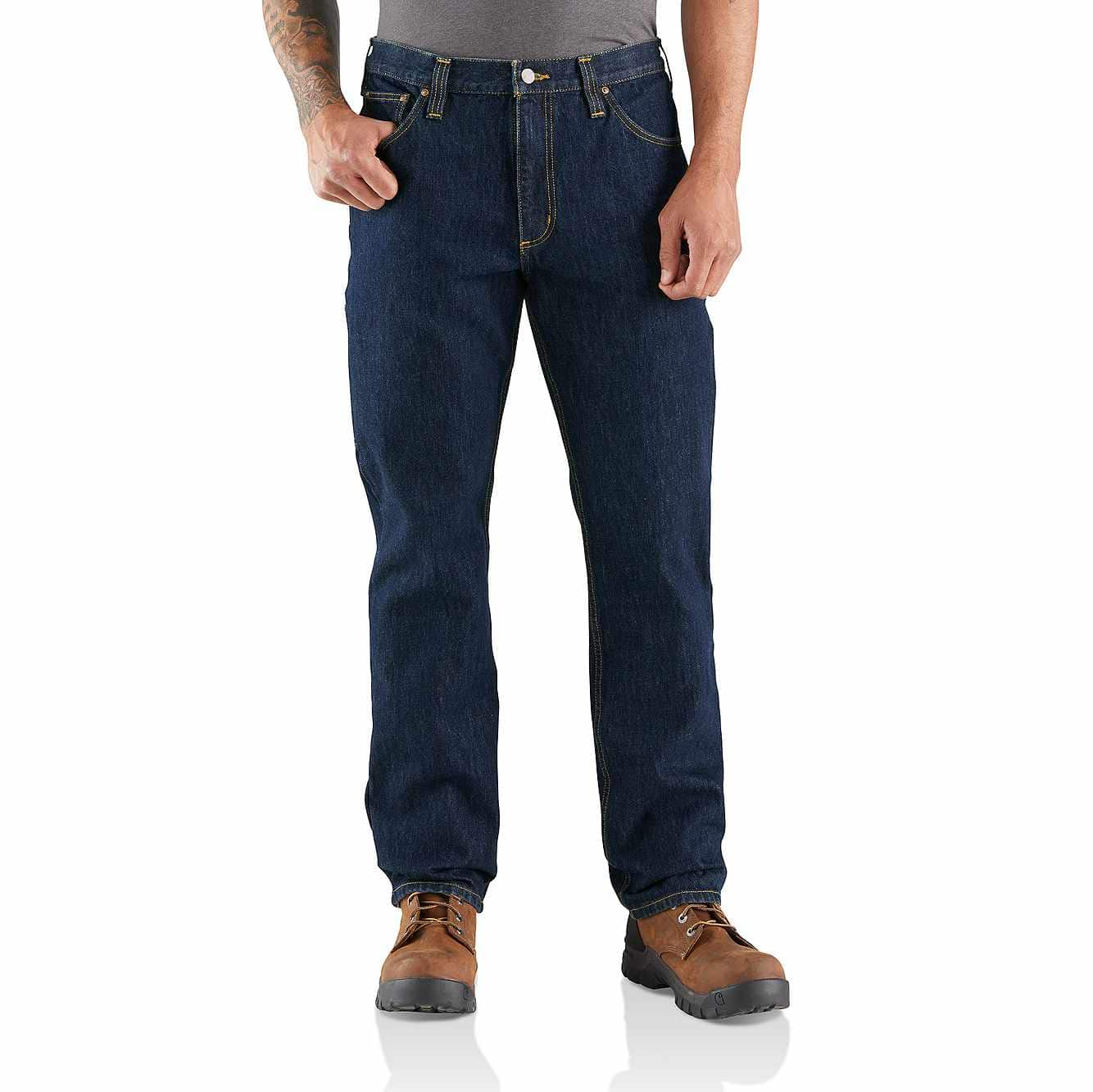 Picture of RUGGED FLEX® RELAXED FIT HEAVYWEIGHT 5-POCKET JEAN