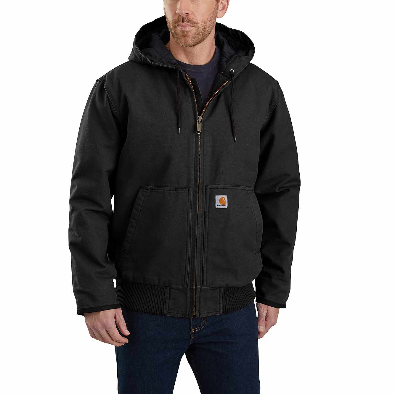 Picture of LOOSE FIT WASHED DUCK INSULATED ACTIVE JAC