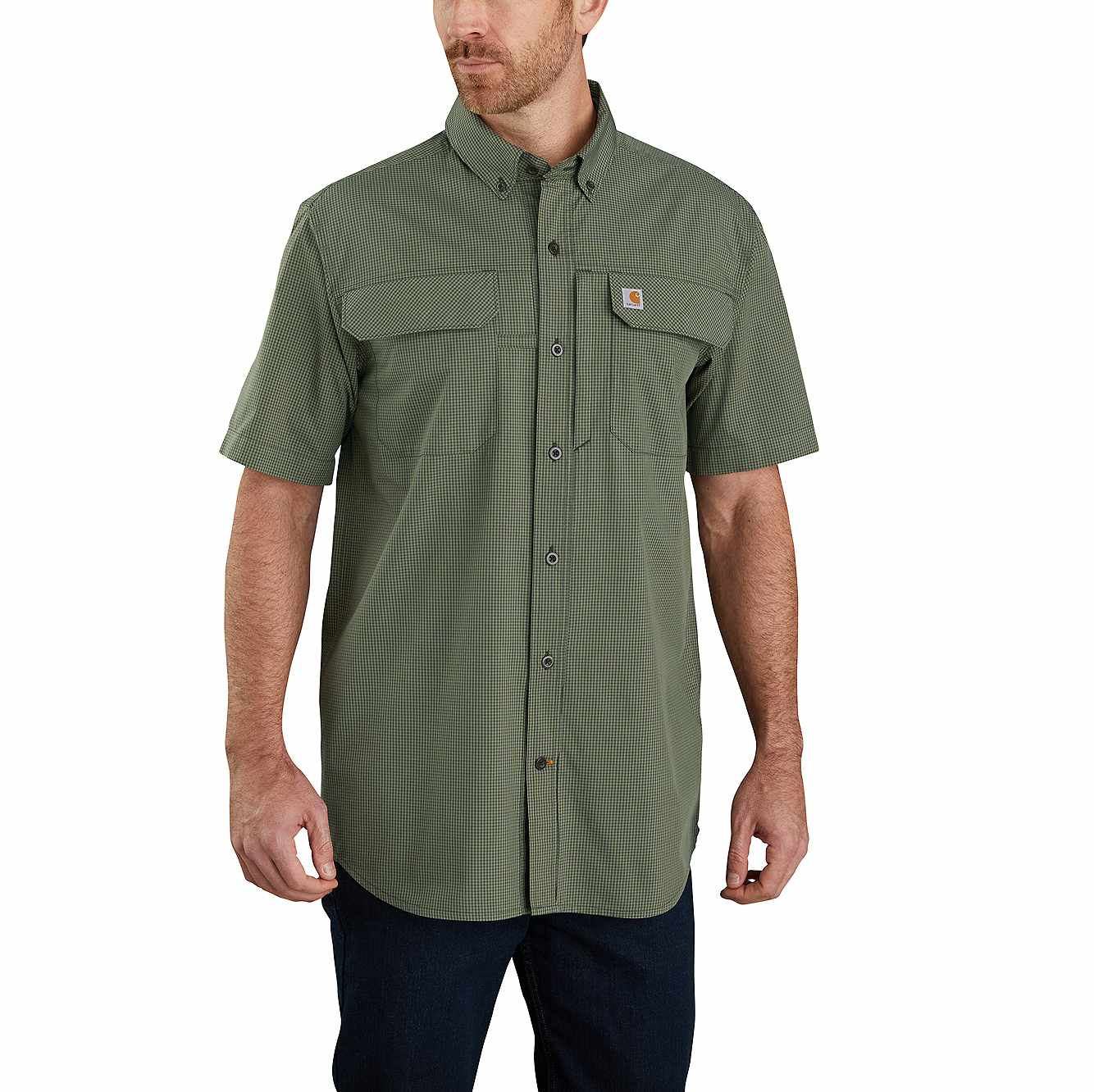 Picture of FORCE® WOVEN SHORT-SLEEVE SHIRT
