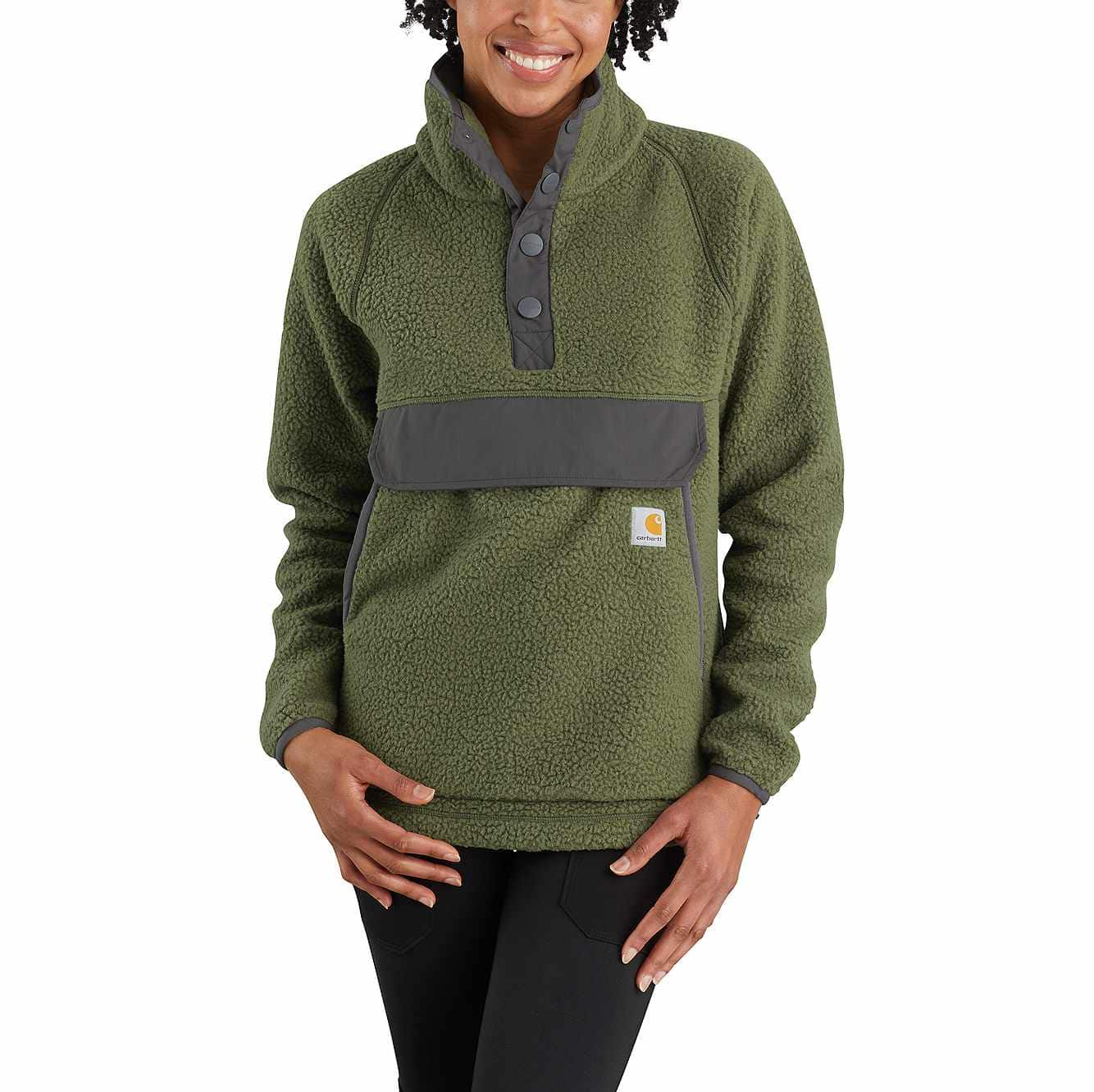 Picture of RELAXED FIT FLEECE PULLOVER