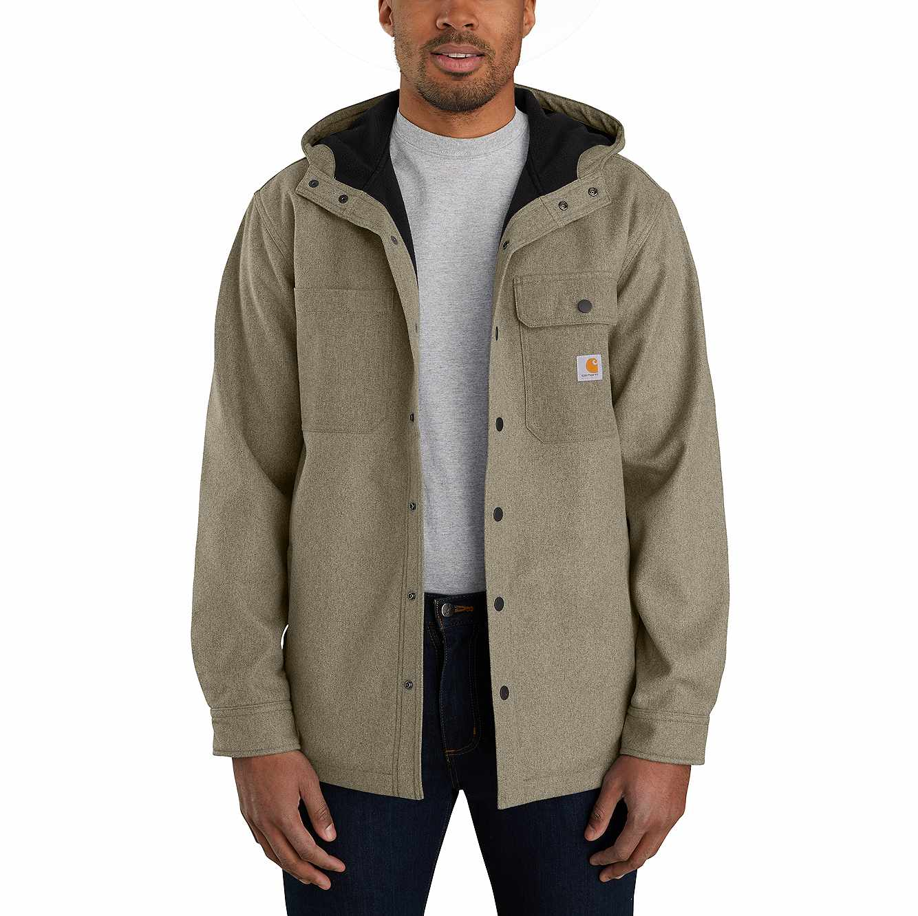 Picture of RAIN DEFENDER® RELAXED FIT HEAVYWEIGHT HOODED SHIRT JAC