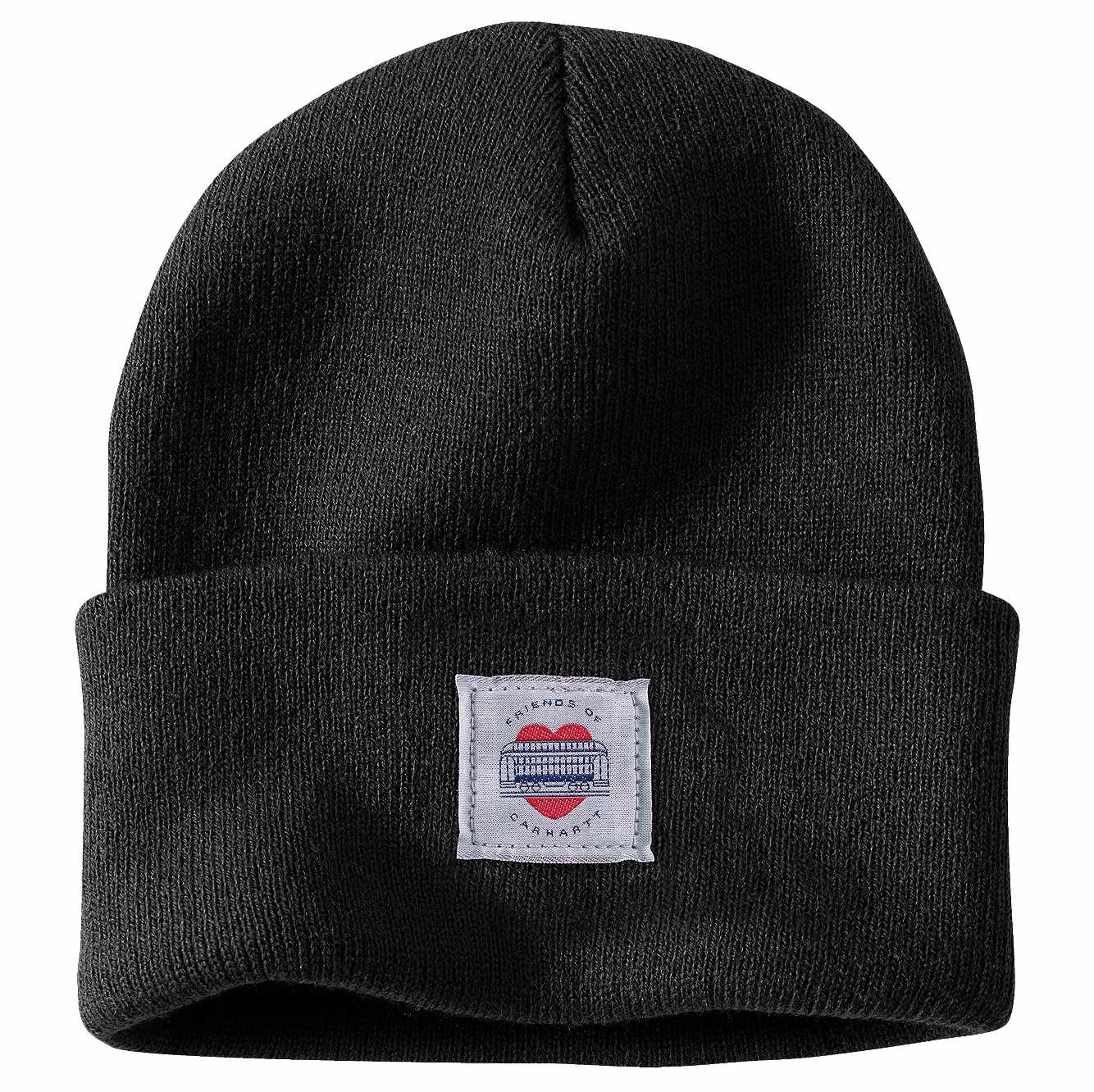 Picture of KNIT CUFFED FOC GRAPHIC BEANIE