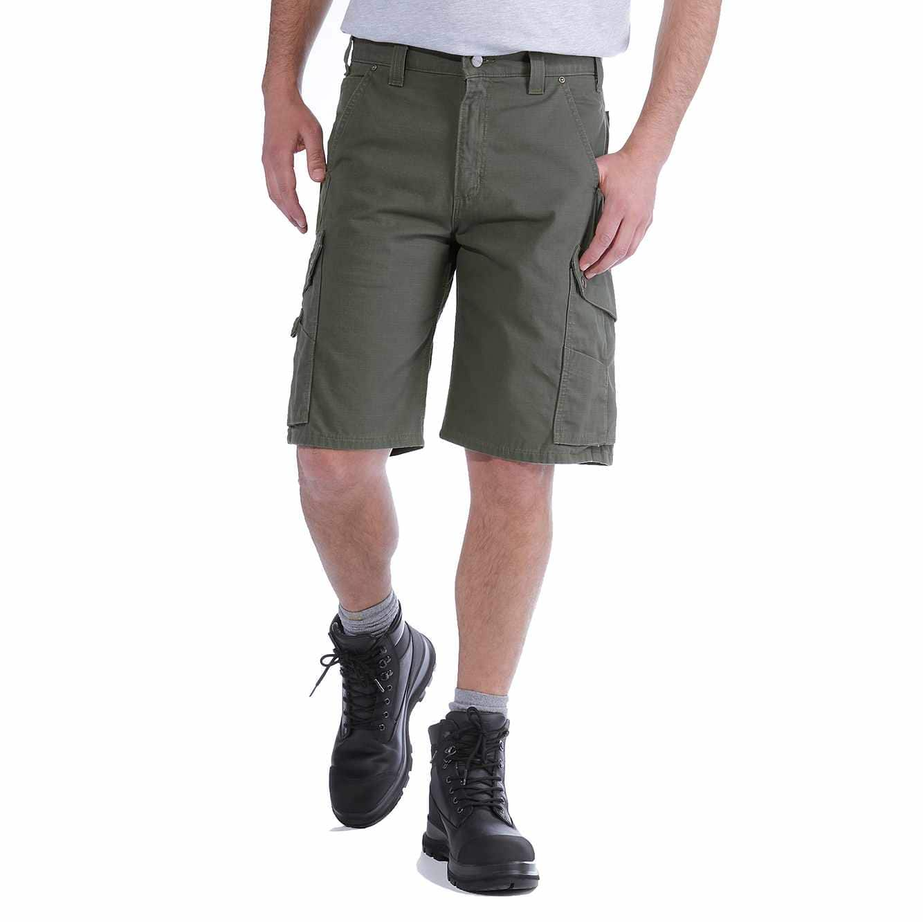 Picture of RELAXED FIT RIPSTOP CARGO WORK SHORT