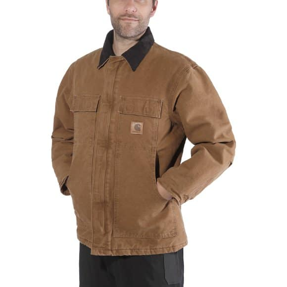 CARHARTT Giacca Berwick Jacket Brown
