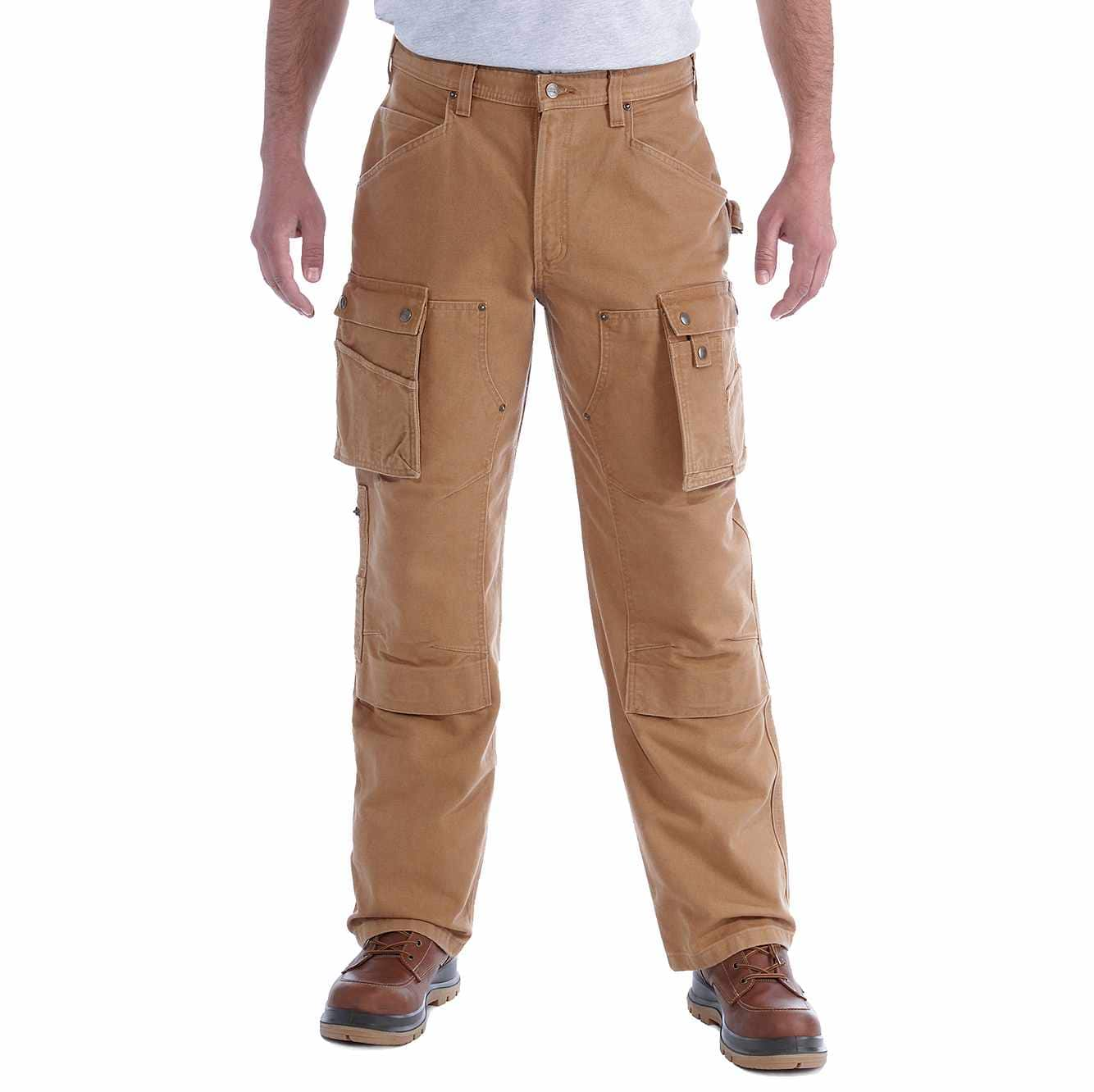 Picture of WASHED DUCK MULTI POCKET TECH PANT