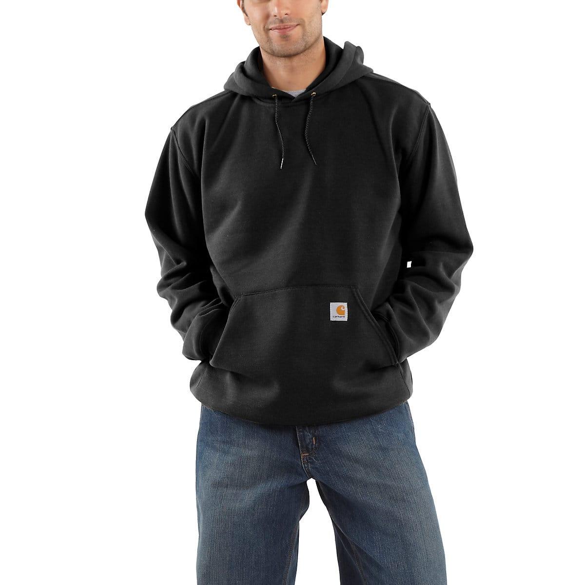 Carhartt Mens Original Fit Midweight Hooded Rugged Workwear Graphic Sweatshirt