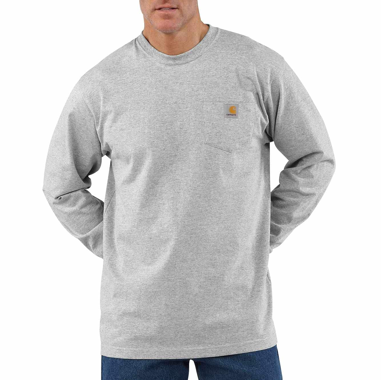 Picture of LOOSE FIT HEAVYWEIGHT LONG-SLEEVE POCKET T-SHIRT