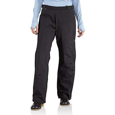 Carhartt Women's Black Cascade Pant - front