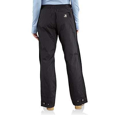 Carhartt Women's Black Cascade Pant - back