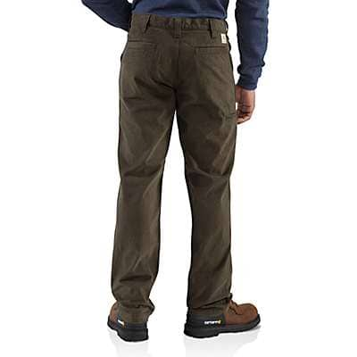 Carhartt Men's Field Khaki Rugged Work Khaki Pant - back