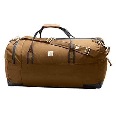 "Carhartt Unisex Carhartt Brown Legacy 30"" Gear Bag - back"