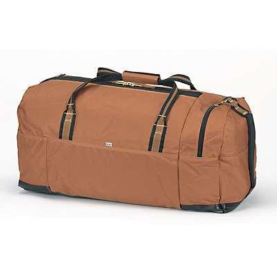"Carhartt Unisex Carhartt Brown Legacy 30"" Gear Bag - back"