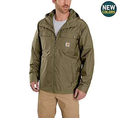 Carhartt Men's Military Olive Rockford Jacket - front