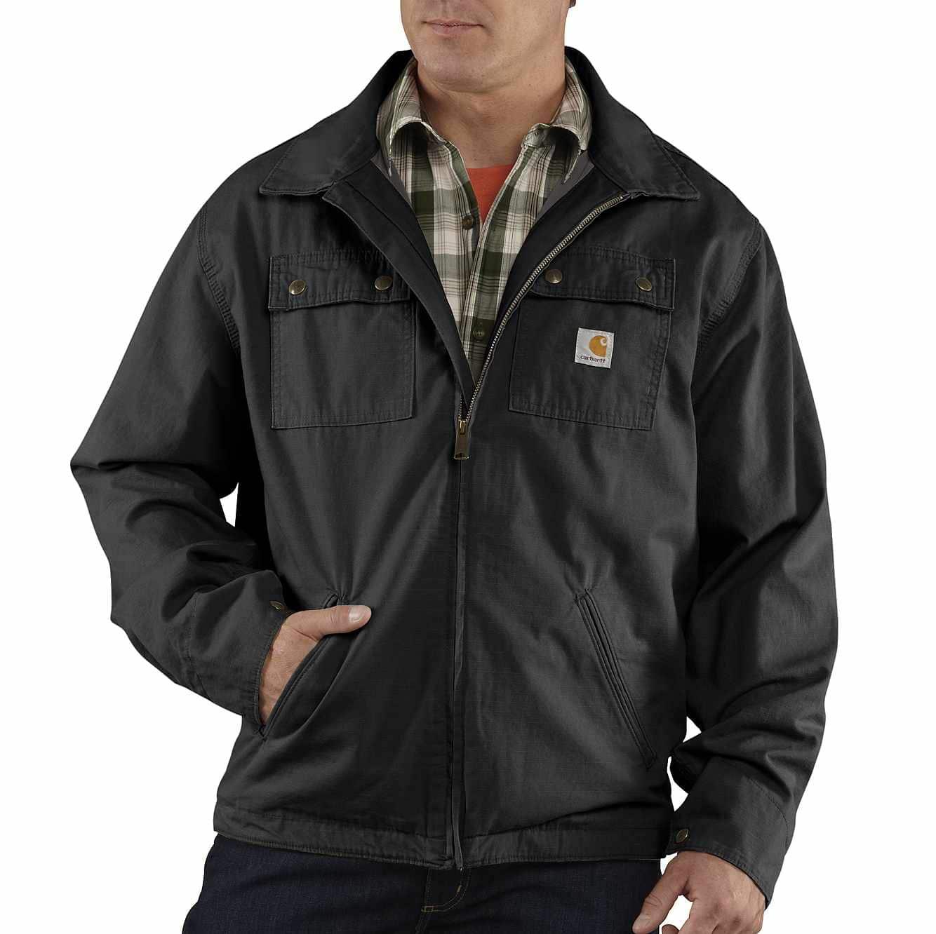 Choose SZ//Color Carhartt Men/'s Big /& Tall Flint Jacket