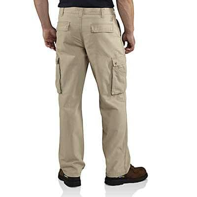 Carhartt Men's Canyon Brown Rugged Cargo Pant - back