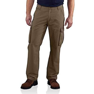 Carhartt Men's Canyon Brown Rugged Cargo Pant - front