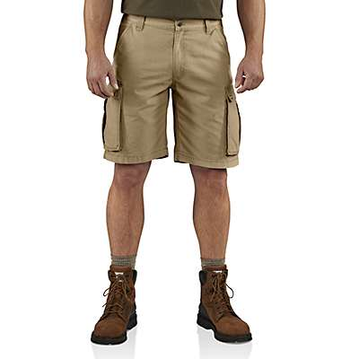 Carhartt Men's Dark Khaki Rugged Cargo Short - front