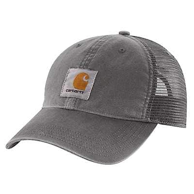Carhartt Men's Burnt Olive Buffalo Cap - back