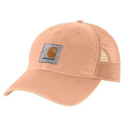 Carhartt Men's Cantaloupe Canvas Mesh-Back Cap