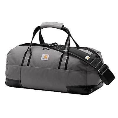 "Carhartt Unisex Gray Legacy 20"" Gear Bag - front"