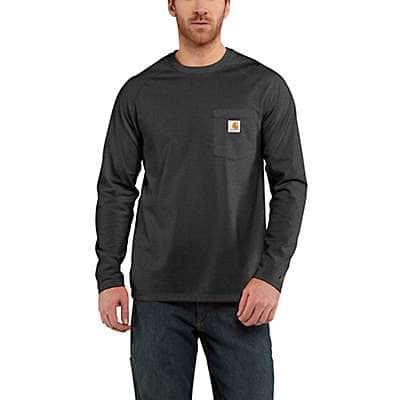 818f796a Men's Carhartt Force® Cotton Delmont Long-Sleeve T-Shirt | Carhartt