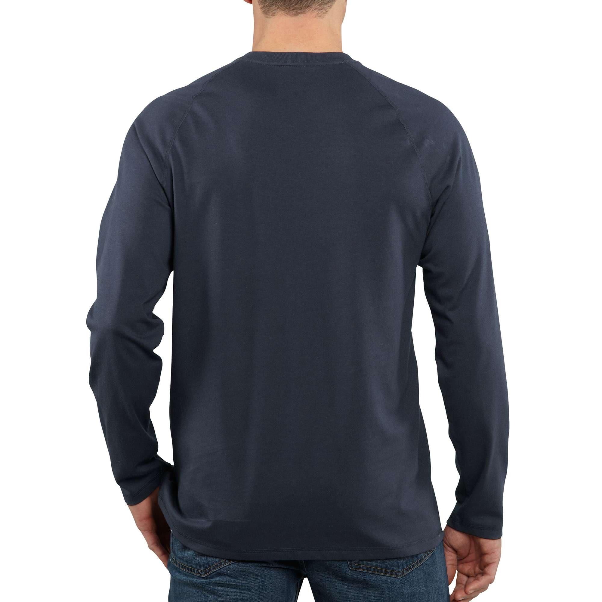 Carhartt Big /& Tall Force T-Shirt /à Manches Longues pour Homme Coton