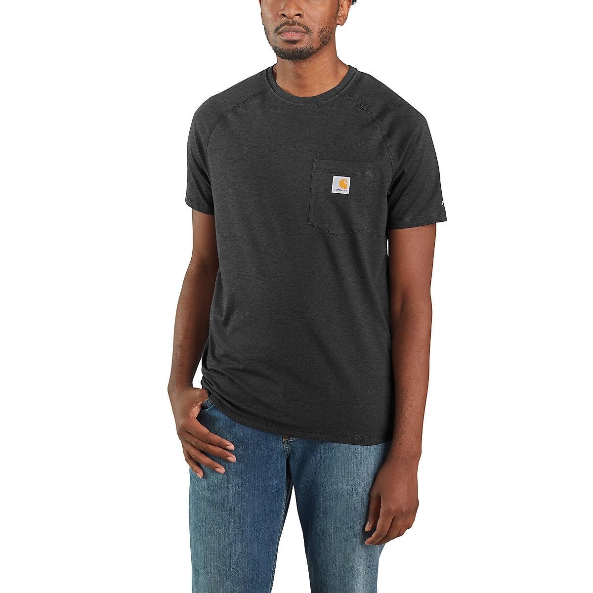 e2bb09252ea6a9 Men's Carhartt Force® Cotton Delmont Short-Sleeve T-Shirt | Carhartt
