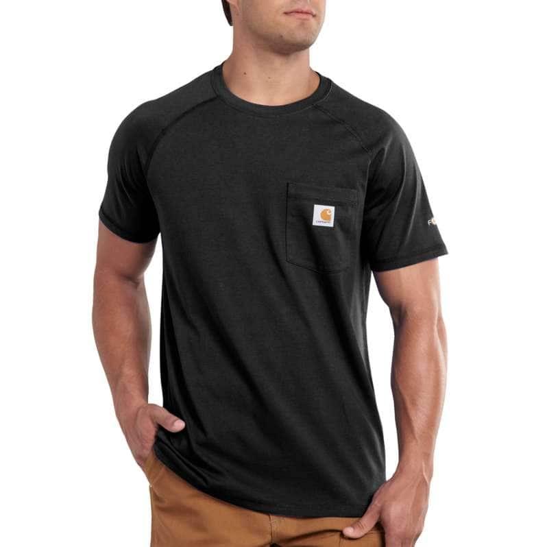 Carhartt  Black Force Relaxed Fit Midweight Short-Sleeve Pocket T-Shirt