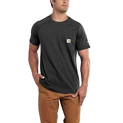 Carhartt Men's Carbon Heather Force Relaxed Fit Midweight Short-Sleeve Pocket T-Shirt