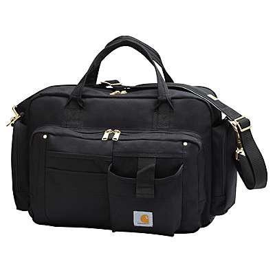Carhartt Unisex Black Legacy Brief Bag - front