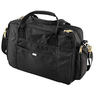 Carhartt Unisex Black Legacy Brief Bag - back
