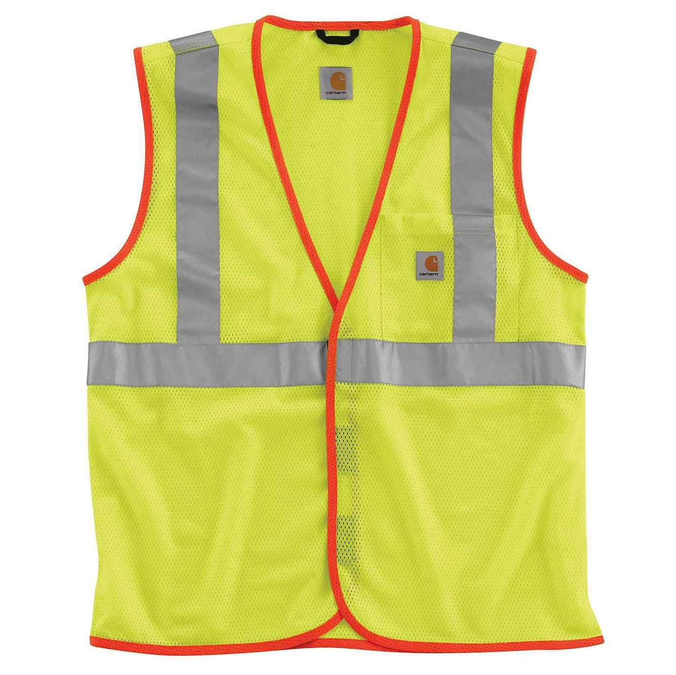 Picture of High-Visibility Class 2 Vest in Brite Lime