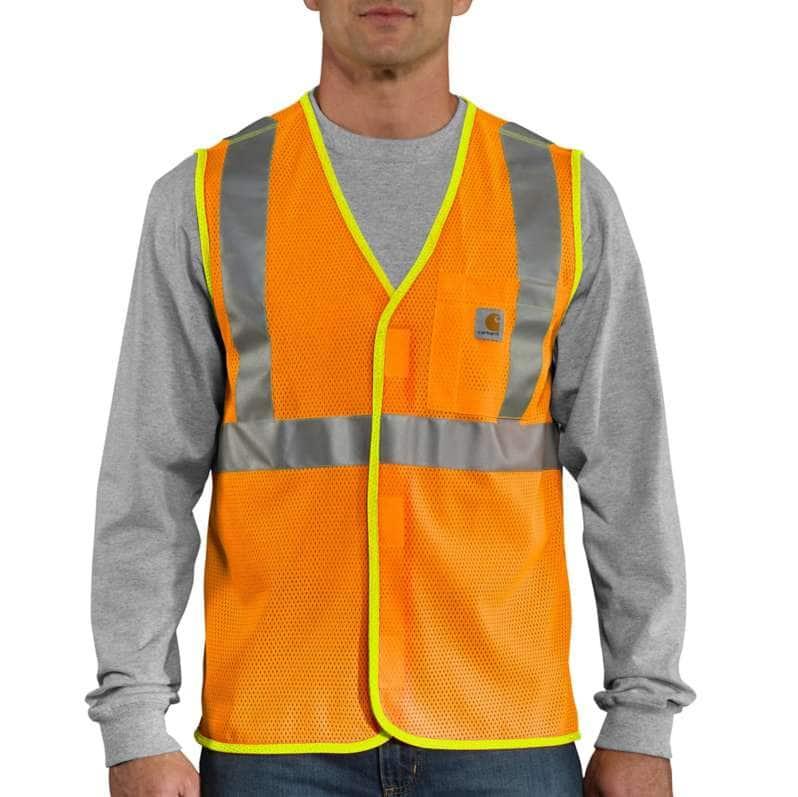 Carhartt  Brite Orange High-Visibility Class 2 Vest