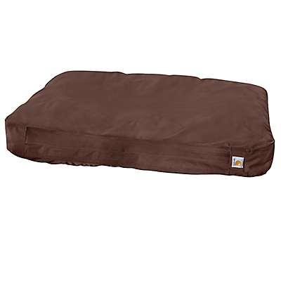 Carhartt  Dark Brown Duck Dog Bed - front