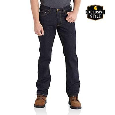 Carhartt Men's Clean Rinse Series 1889® Relaxed Fit Straight Leg Jean - front