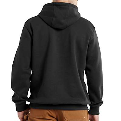 Carhartt Men's Peat Rain Defender® Paxton Hooded Heavyweight Sweatshirt - back