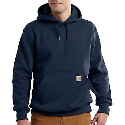 Carhartt Men's Peat Rain Defender® Paxton Hooded Heavyweight Sweatshirt - front