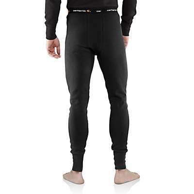 Carhartt Men's Natural Carhartt Base Force® Cotton Super-Cold Weather Bottom - back