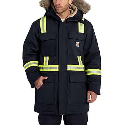 Carhartt Men's Dark Navy FR Extremes® Arctic Parka - front