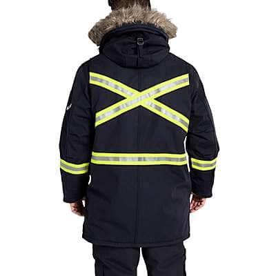 Carhartt Men's Dark Navy FR Extremes® Arctic Parka - back